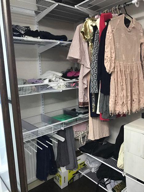 пример гардеробной комнаты