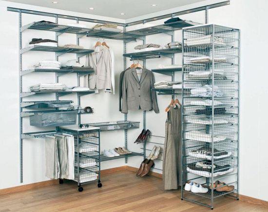 гардеробные комнаты Elfa