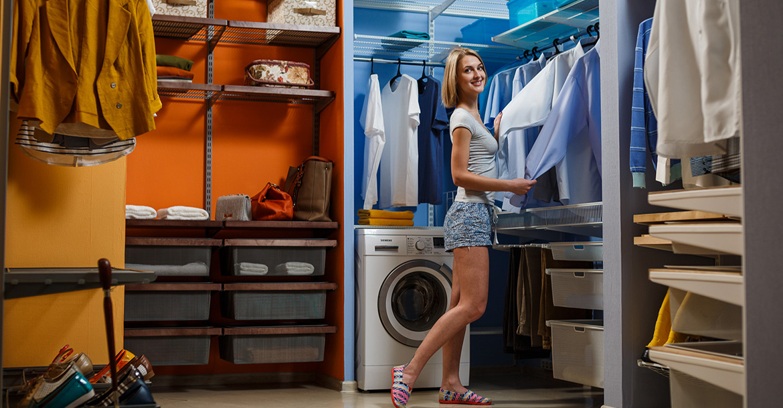 ООО Парус и К - первый российский производитель универсальных систем хранения и гардеробных комнат