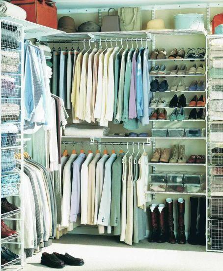 оборудование для гардеробных комнат