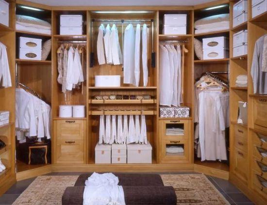 гардеробная комната в квартире