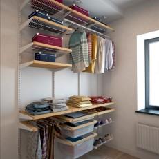 пример обустройства гардеробной