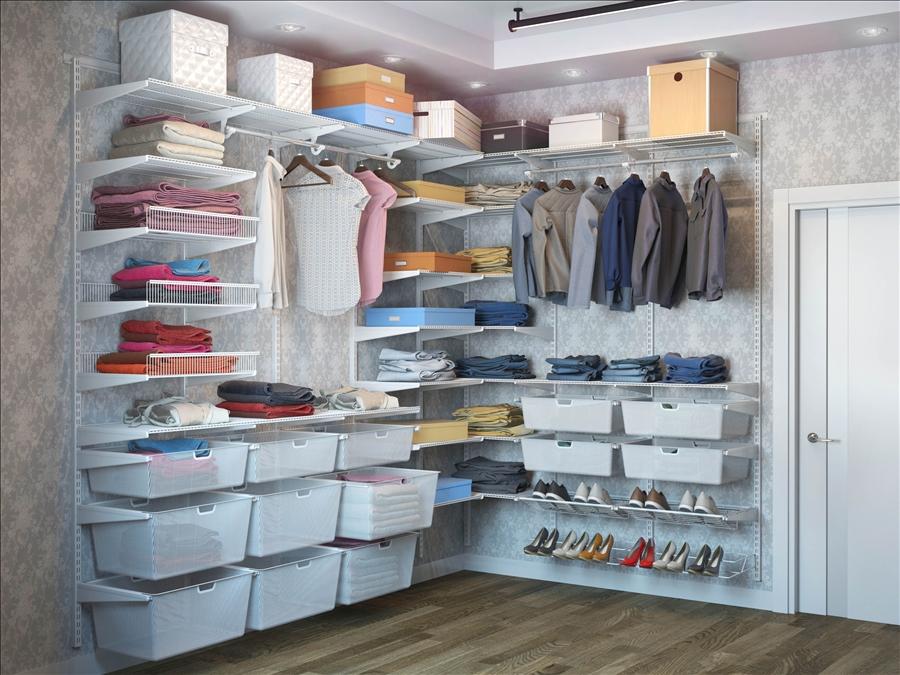 как в комнате сделать гардеробную