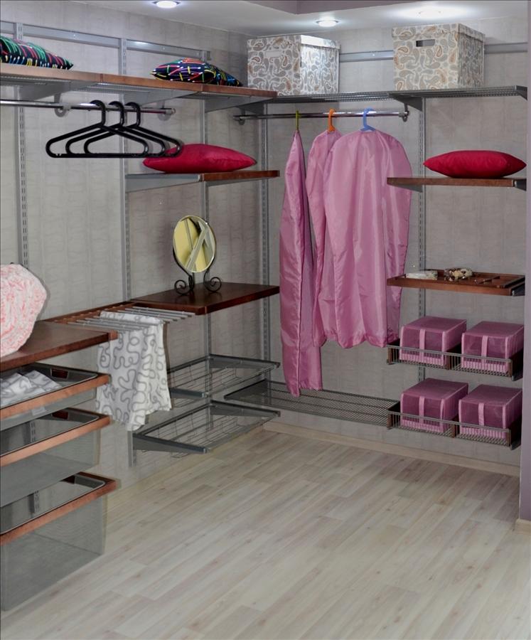 встроенные гардеробные комнаты